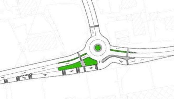 ISOLA DEL LIRI – Ecco come sarà la nuova rotatoria Via Napoli / Via Pirandello