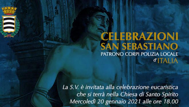 SORA – Mercoledì 20 Gennaio la Festa di San Sebastiano, Patrono della Polizia Locale d'Italia