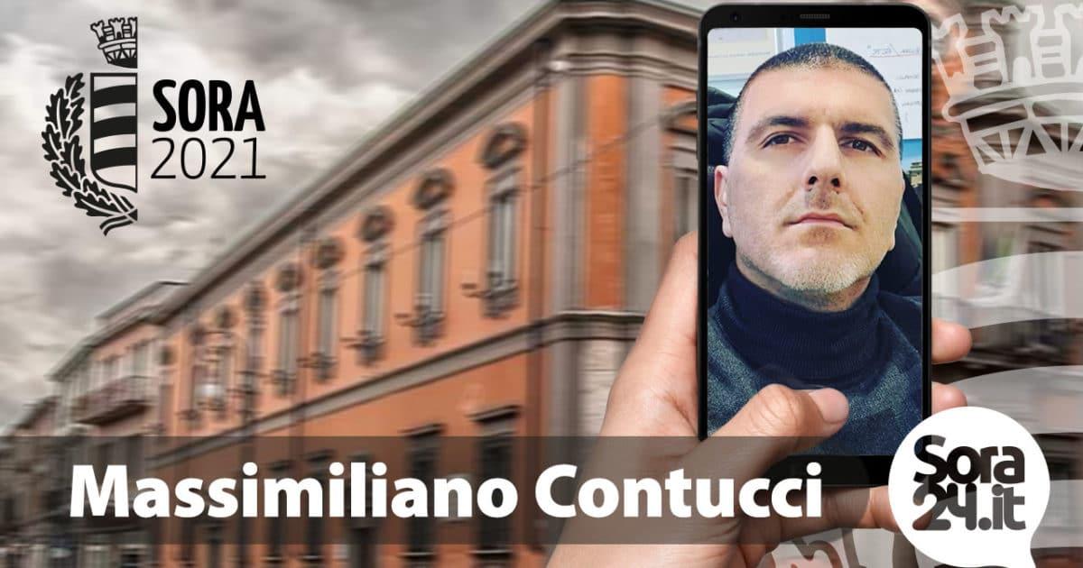 ELEZIONI SORA 2021 – Massimiliano Contucci