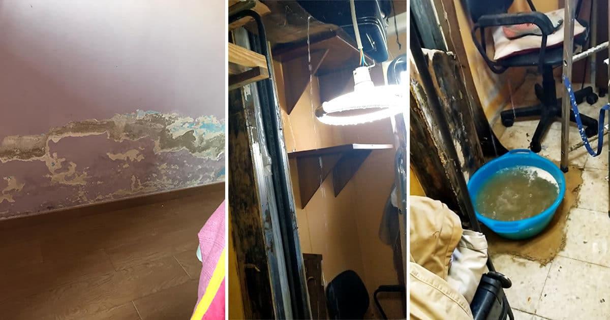 SORA – Tubatura rotta in palazzo Ater e acqua dentro casa: la segnalazione di un'inquilina