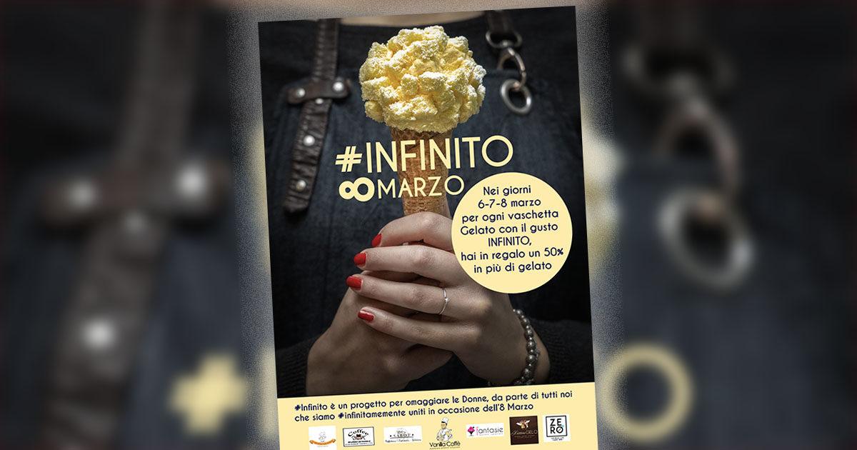 #INFINITO: la bella iniziativa dei gelatieri artigianali per l'8 Marzo