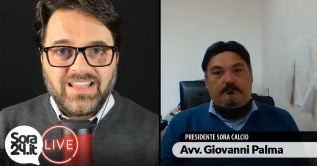 INTERVISTE – Sora Calcio: il Presidente Avv. Giovanni Palma in diretta su Sora24