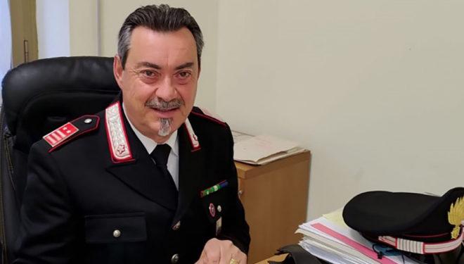 FROSINONE – Dopo 40 anni di servizio il Luogotenente C.S. Fausto Quirico va in pensione