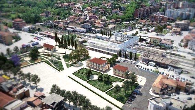 FROSINONE – Riqualificazione piazzale Kambo (stazione): pubblicato l'appalto. Ecco come diventerà