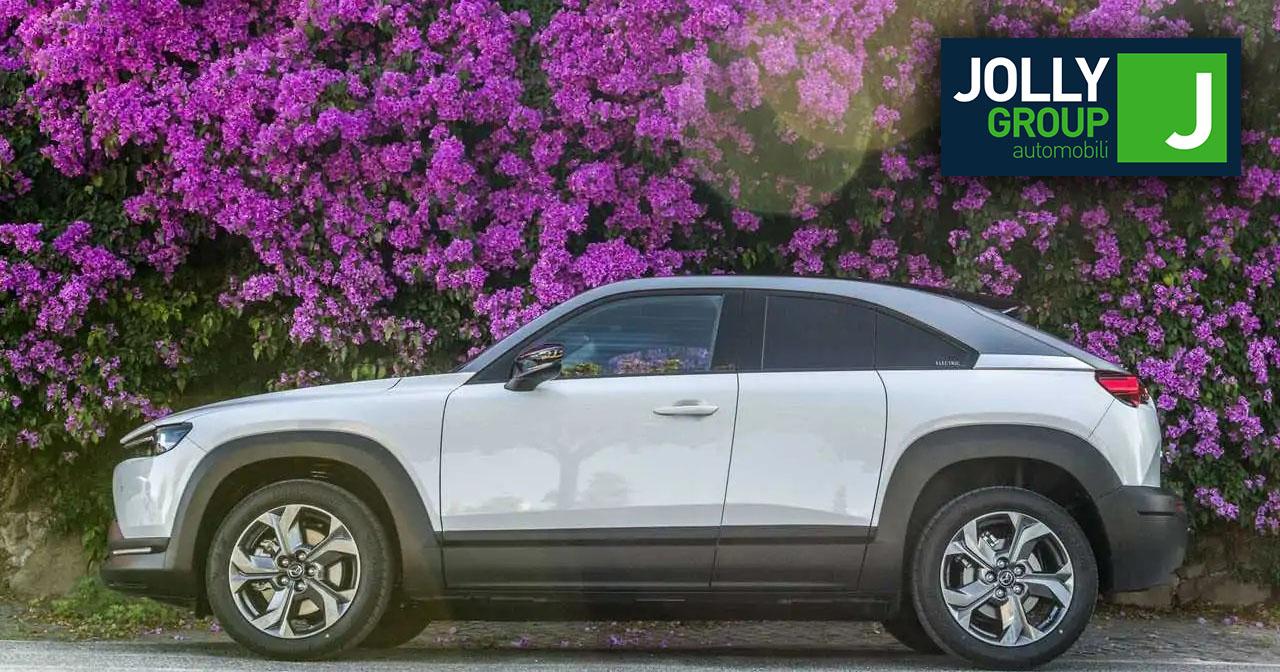 MAZDA MX-30: oltre 10 mila euro di vantaggi con gli incentivi statali. Scoprila da Jolly Auto
