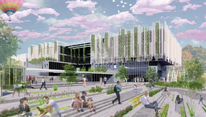 FROSINONE – Ecco come sarà la nuova scuola superiore che sorgerà al Casaleno