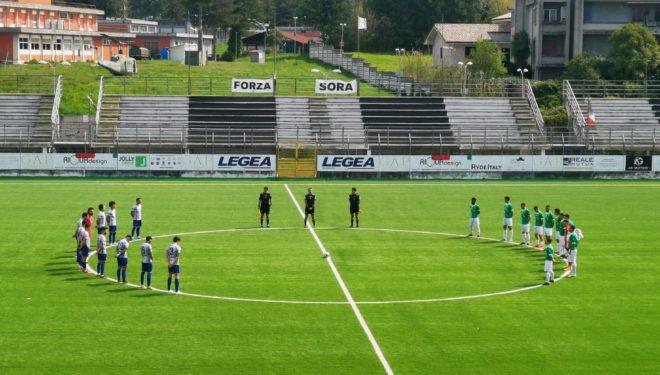 Sora Calcio: bianconeri ok anche in casa. 2-0 e primo posto in classifica