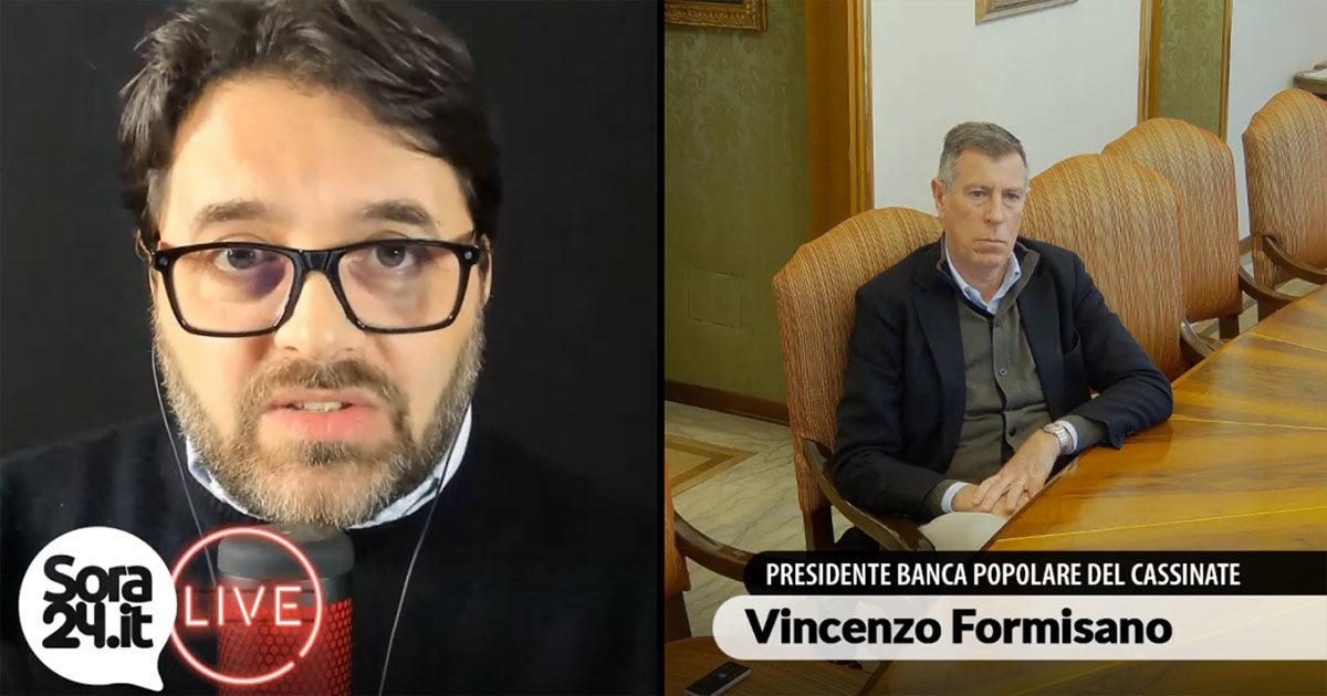 Intervista a Vincenzo Formisano, Presidente della Banca Popolare del Cassinate