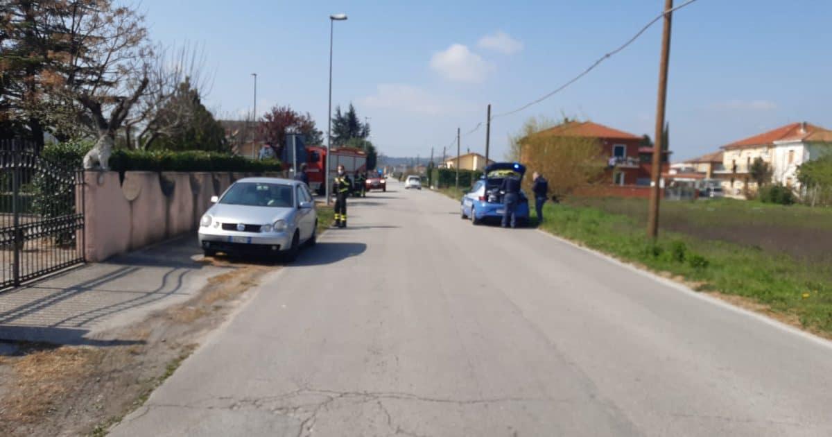 SORA – Malore alla guida: anziano esce di strada in via Cellaro