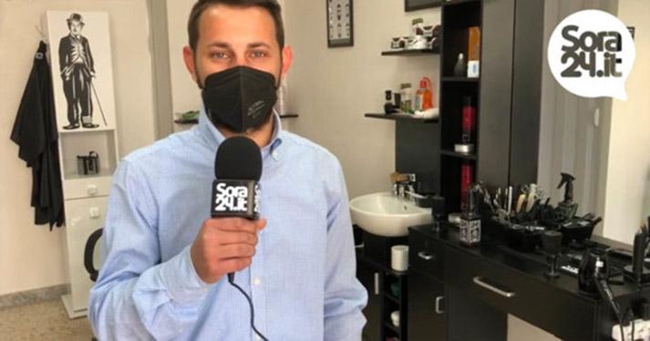 Barbiere Mirko presenta la sua nuova attività in via Firmio a Sora