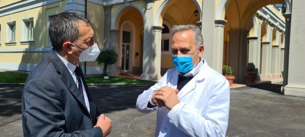 ROMA – Il Cons. Reg. Loreto Marcelli incontra il Direttore dello Spallanzani, Dott. Francesco Vaia