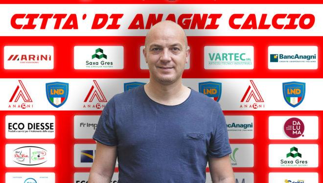 Antonio H7 Tersigni nuovo allenatore dell'Anagni