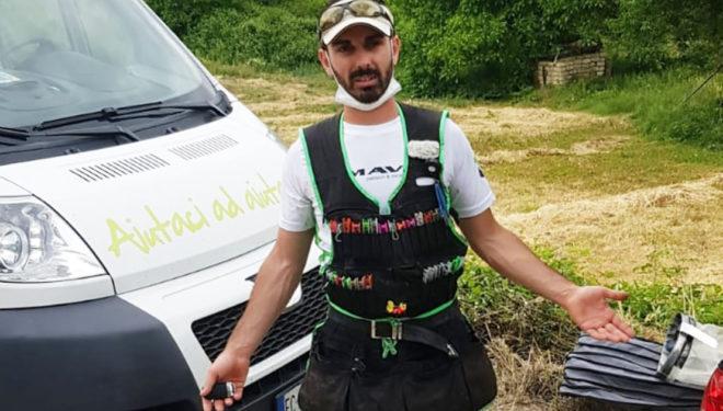 Manolo Rea raggiunge il Club Azzurro nella Pesca alla Trota Torrente