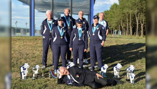 48° Campionato d'Europa di Fossa Universale: ricco bottino per la nazionale del CT Polsinelli