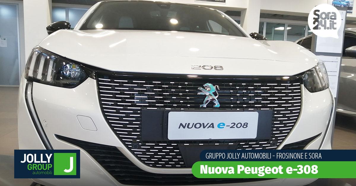 Peugeot E-208: l'elettrico per tutti. Scoprila presso il Gruppo Jolly Automobili, a Frosinone e Sora