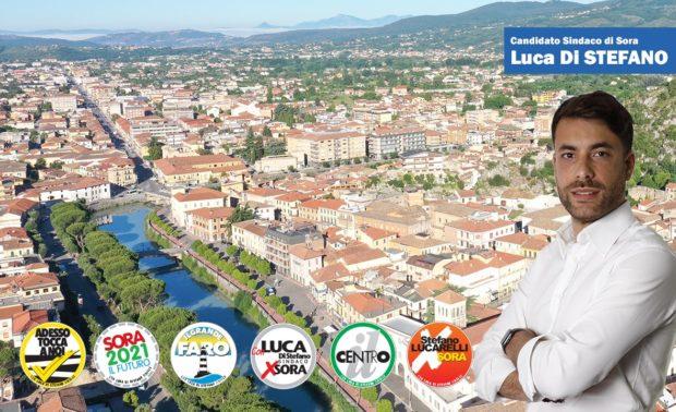 ELEZIONI 2021 – Oggi alle 18:00 Luca Di Stefano live su Sora24: «I miei primi 100 gg di governo»