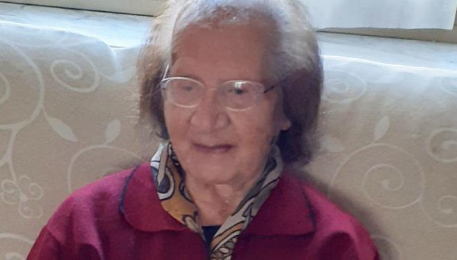 """""""Nonna"""" Maria compie 100 anni, gli auguri della Città di Sora"""