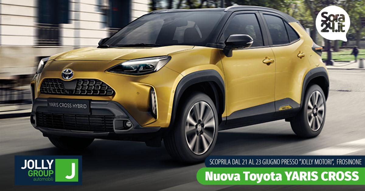 Nuova Toyota Yaris Cross Hybrid ti aspetta in anteprima presso