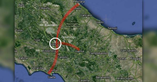 "Trasversale ""Tirreno-Adriatica"", dorsale Sora-Atina-Isernia: Gianni Celli lancia la sfida"