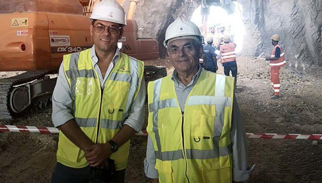 Delta Lavori: inaugurata la galleria naturale San Pelino sulla L'Aquila-Montereale