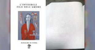 """SORA – """"L'invisibile filo dell'amore"""", tradotto in braille il romanzo di Rosalba Di Vona"""
