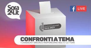 I candidati Sindaco rispondono agli e-lettori di Sora24