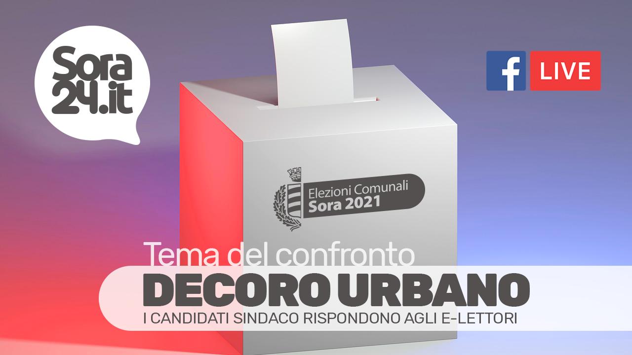 DECORO URBANO - I candidati Sindaco di Sora rispondono agli e-lettori
