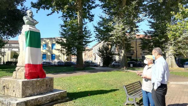 SORA – Monumento in onore di Amedeo Carnevale, riposizionata la lapide