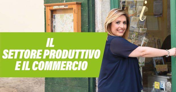 ELEZIONI SORA 2021 – Commercio: le proposte della candidata a sindaco Eugenia Tersigni