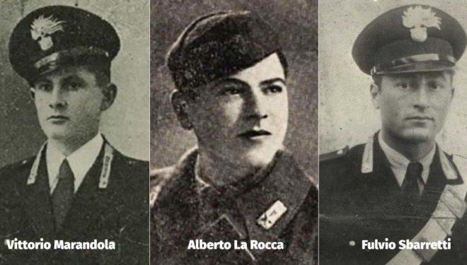 12 Agosto 1944, onore ai Martiri di Fiesole: Alberto La Rocca, Vittorio Marandola, Fulvio Sbarretti