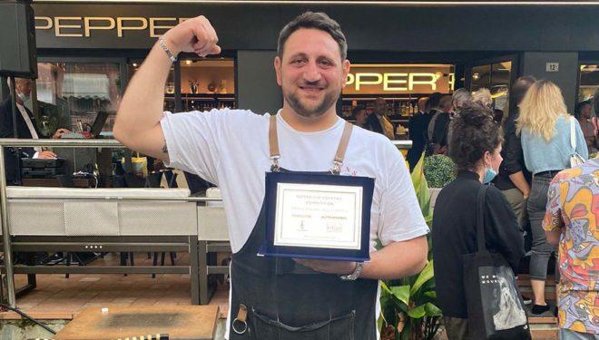 """La """"Pepper Cup Cocktail Competition"""" 2021 """"parla"""" sorano: Giovanni Fusco protagonista a Riccione"""