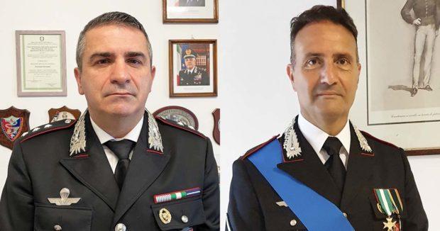 Presentati i nuovi comandanti della Compagnia e del N.O.R.M. dei Carabinieri di Sora